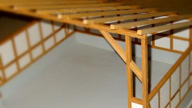Maschinenhalle aus Holz