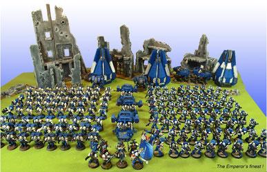 Tabletop Armee für strategische Schlachten