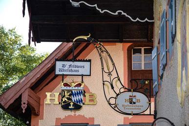 Wirtshaus Feldwies - das Stammlokal der Ferienwohnungen der Alten Gendarmerie Übersee