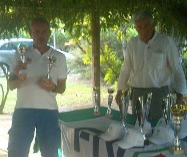 Giorgio Leone ritira i premi della prima regionale