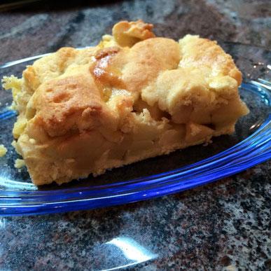 Mürber Apfelkuchen Mürbeteig