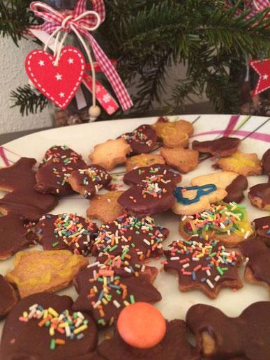 Ausstechkekse Kekse Weihnachtskekse