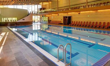 Piscina per il nuoto sportivo