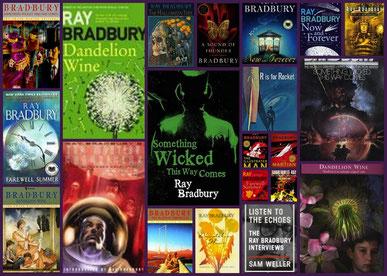 Algunes de les obres de Ray Bradbury