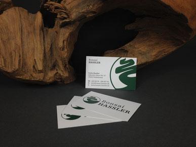 Bonsai - Hassler Visitenkarte