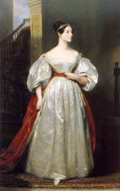 Ada Lovelace,  par Margaret Carpenter (1835)