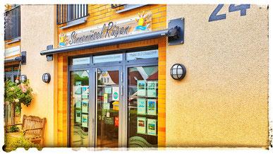 Sonneninsel Rügen Immobilien befindet sich an der Hauptstraße 24