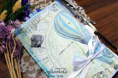 realizza il tuo junk journal! Kit per fare da sola il tuo diario scrap