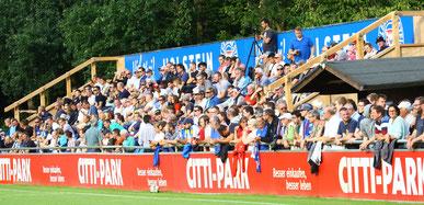 Gegen den SC Weiche erwartet die U23 volle Ränge im Citti Fussball Park. Foto: pin