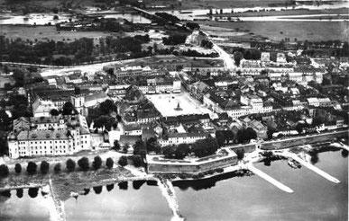 Luftaufnahme der Altstadt (Postkarte um 1930)