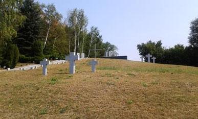 Kriegsgeräberstätte Lietzen für gefallene deutsche Soldaten Zubettungsteil