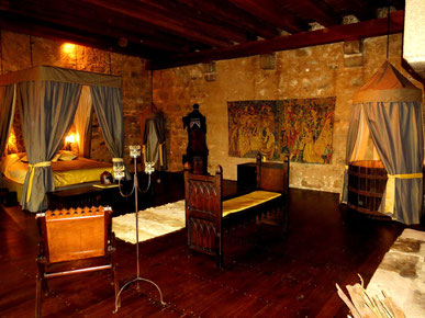 chateau medieval authentique - sejour prince et princesses au chateau-fort