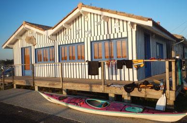 La cabane bleu aux artistes de Audenge  ©FredG