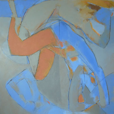 Le grand Icare / Huile sur toile 150 x 150