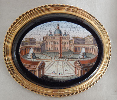micro mosaiques italie  vatican