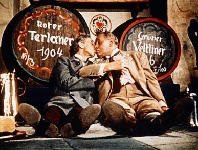 """Szene aus """"Im weißen Rössl"""" von 1960/Scene from the 1960s film version"""