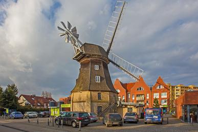 Die Jungfernmühle in Buckow und das Restaurant Wiesenstein.