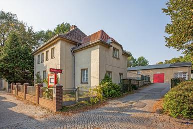 Die Feuerwache Alt - Biesdorf.
