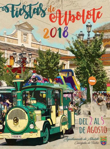 Fiestas de Albolote 2015 Cartel y programa