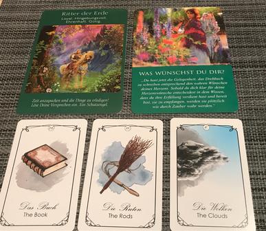 Orakel Tagesbotschaft Kartenlegung Phönixzauber
