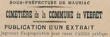 Expropriation : décision de la Sous-préfecture