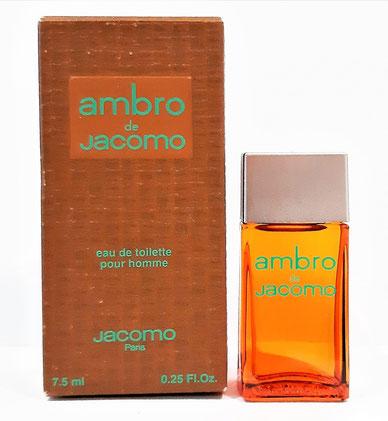 JACOMO - AMBRO DE JACOMO : EAU DE TOILETTE POUR HOMME 7,5 ML