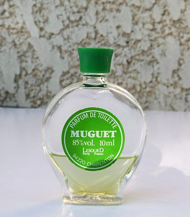 LESOURD - MUGUET PARFUM DE TOILETTE 85 % VOL. 10 ML