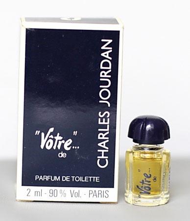 JOURDAN CHARLES - VÔTRE : PARFUM DE TOILETTE 2 ML