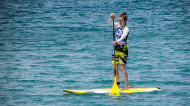 Watersport Standup paddling (SUP)