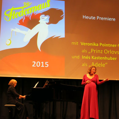 Eine Frau, die weiß, was sie will - Konzert 2015 mit Veronika Pointner-Waldl & Elena Kondratenko