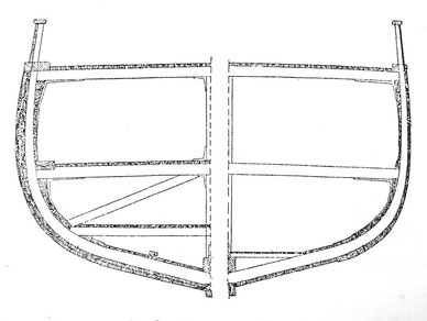 Comparaison de la structure d'un navire polaire et d'un navire terre-neuvier tout deux du constructeur Gautier