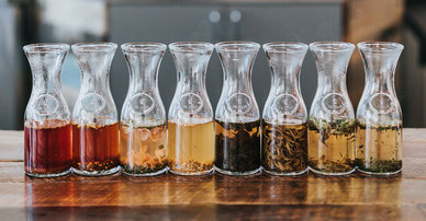 herbal brew glass bottles