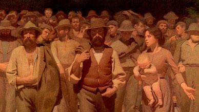 OmoGirando la Pinacoteca di Brera - Pellizza da Volpedo, Il Quarto Stato