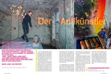 Artikel im TOP Magazin von Jens Hirsch, Foto: Marcel Krummrich