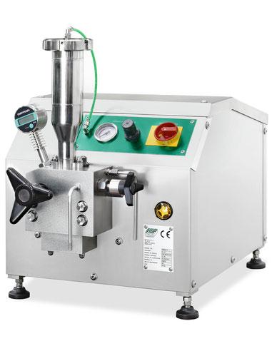 Laborhomogenisiermaschine, Homogenisierungsanlage, Homogenisator, Hochdruckhomogenisator