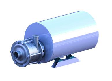 Kreiselpumpe für hohen Druck, bis 40 bar, Filtrationsanlagen