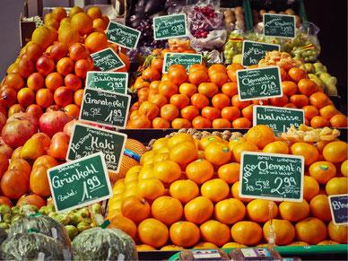 Obst ist gut zum abnehmen