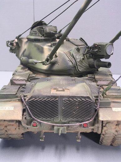 Verrustes Heckteil, typisch M60