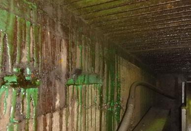 地下ビットLED更新 高温多湿+耐酸腐蝕対策