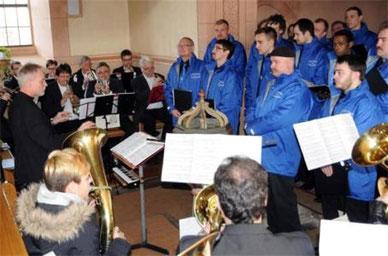 Jubiläumskonzert - 150 Jahre - in der Moritzkirche - 080315