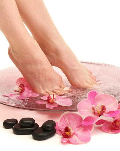 Wellness-Fußplfege und Fußfrench