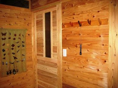 ネコのハンガーフック 玄関