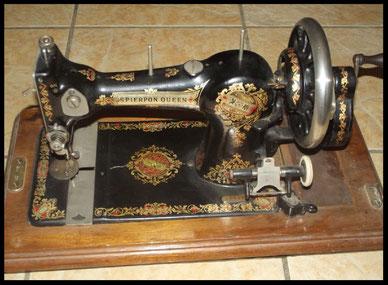 Jones 134.000 SPIERPON QUEEN Var.2 -old bobbin winder (1904 c.)