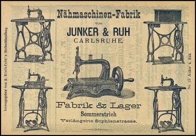 1875 c. Junker & Ruh Werbung-Advertising