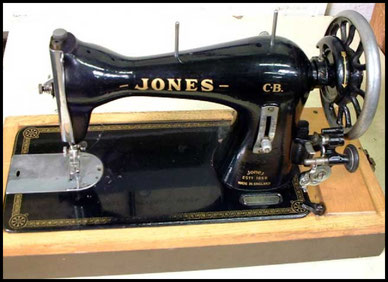 JONES EST. 1859 MADE IN ENGLAND - from Needlebar -