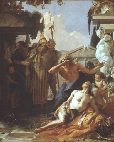"Tiepolo: ""Tod des Hyazinth"""