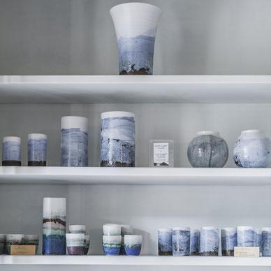 Les céramiques de Brigitte Chapelier en exposition-vente au Hameau