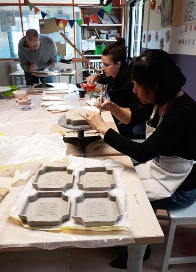 taller de cerámica  artística mari orikasa