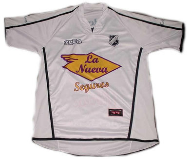 Camiseta Suplente 2010