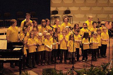 Der Kinder- und Jugendchor im Jubiläumsjahr 2009